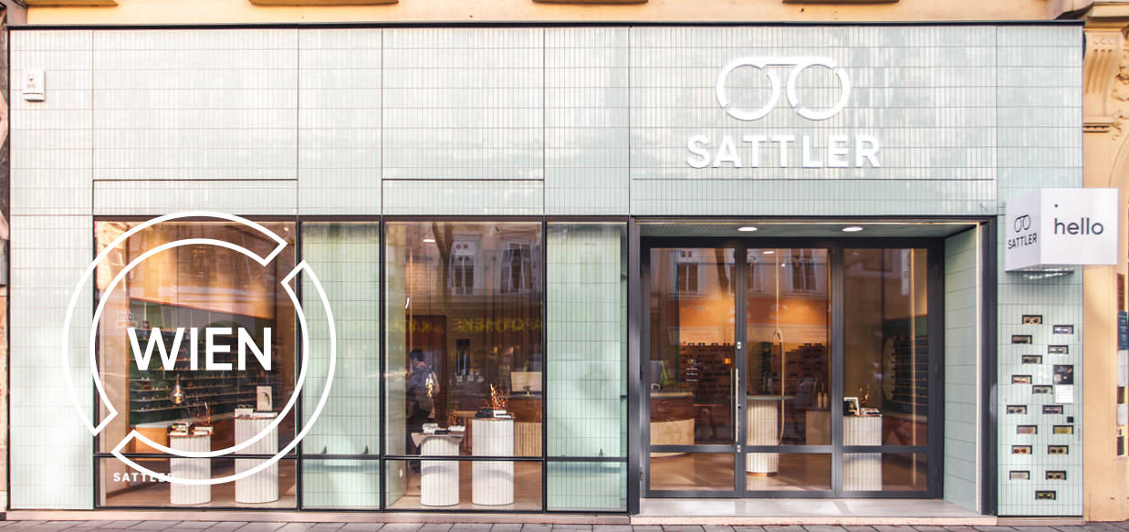 Optiker Wien - Sattler Optik - Shop - Aussenansicht